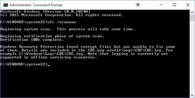 Fix Windows System File Error